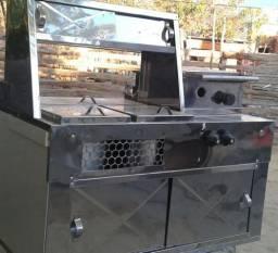Kit hot dog com chapeiro