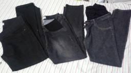 Lote calças gestante