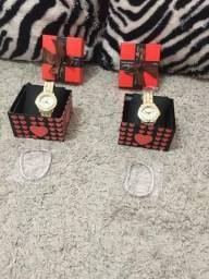Vend Relógio de Pulseira de Cristal de Quartzo Relógio luxo