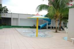 Apto no centro de 2 quartos com 8 piscinas no aquarius no setor Oeste