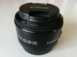 Lente Canon 50 mm - 1.8