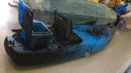 Caiaque Hunter Fishing 285 - Azul / Preto