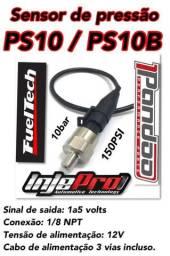 Sensor Ps10 ou Ps10b. FuelTech, Injepro, Pandoo. Turbo e Aspirado. LM