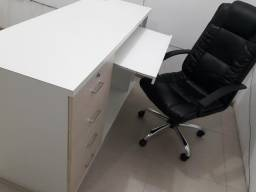 Balcão C/ Cadeira Pra Escritório/Recepção