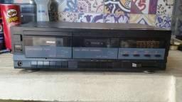 Som Vintage Tape Deck CCE DX18 Revisado Funcionando