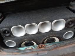 Troco som de carro por mobilete ou Shineray