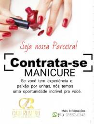 Contrata-se Manicure / vaga Manicure