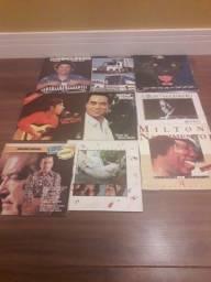 Coleção de 20 discos de vinil