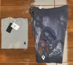 Kit Bermuda e Camisa 150$