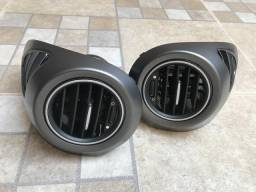 Vendo os 3 / difusor lateral de ar condicionado/ Luz teto/ Capa para câmbio marcha