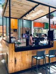 Quiosque Cafeteria no Shopping