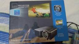 Mini projetor 20 a 60 polegadas