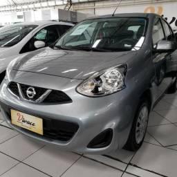 Nissan March S 1.0 - Completo com direção elétrica-Super econômico