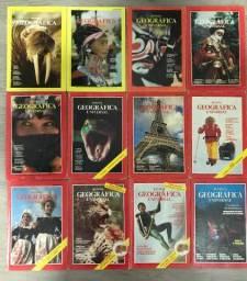 Revistas antigas National Geographic