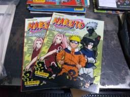 Álbum de figurinhas Naruto vazios