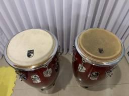 Congas Toca Percussion Elite Pro Séries + Bag