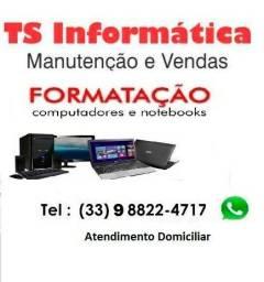 Serviços de manutenção em informática