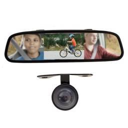 Espelho Retrovisor LCD c/ Câmera de Ré colorida