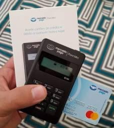 Máquina de cartão de crédito nova e lacrada point mini bluetooth