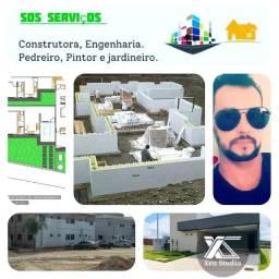 SOS serviço construtora prestação de serviços