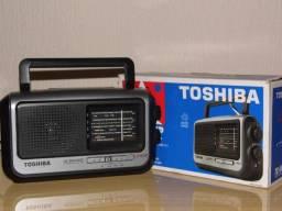 Radio Toshiba TR449SP am/fm/sw 4 band 110/220v zerado na caixa em P.Alegre-rs
