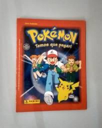 Álbum Pokémon Nintendo Panini Ano 1999
