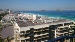 Flat 1 quarto de frente para praia da Barra - Condomínio com toda estrutura (Barra Palace)