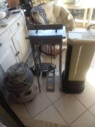 Aspirador de pó Eletrolux, seladora, ar condicionado Consul 9000 BTUs