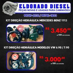 Título do anúncio: Kit Direção Hidráulica para MB 1113 E VW 6.90 E 7.90