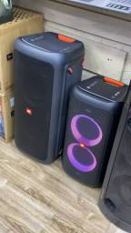 JBL Partybox 100 e 300 leia o anúncio