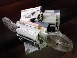 KIT com 2 Projetores antigos Eumig de filmes Super8 sonoro