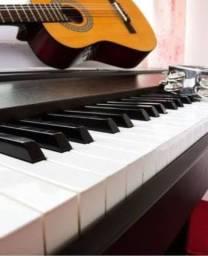 Aulas de Teclado ( Piano ), canto, violão popular e clássico, musicalização infantil ...