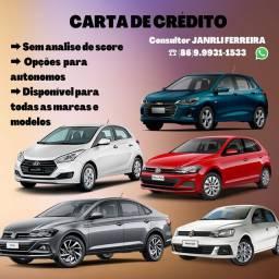 Carta de crédito e consórcio