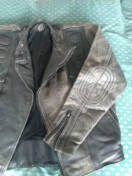 Jaqueta de Couro para Motoboy