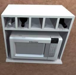 Fabrica suporte de microondas (ACEITAMOS CARTÕES)
