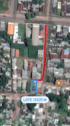Lote 10x25 Área central de Santana