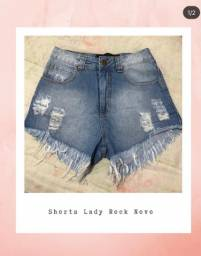 Shorts Lady Rock Novo