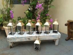 Kit com 10 lanternas decorativas para eventos