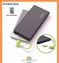 Carregador Portátil Pineng 10000mah Power Bank