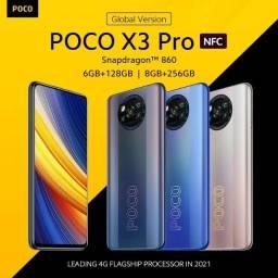 Smartphone Poco X3 PRO 256gb 8gb RAM Dual SIM 120 hertz snapdragon 860 Phantom Black