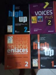 Livros escolares novos