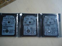 Vendo 2 HDs Novos De 500gb Para Notebooks