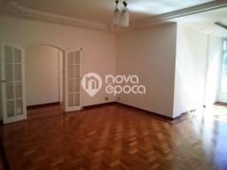 Apartamento à venda com 3 dormitórios em Laranjeiras, Rio de janeiro cod:CP3AP49143