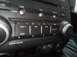 Rádio original do Honda Civic 2007/2011