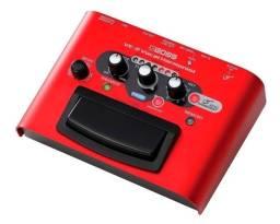 Pedal Processador De Voz Boss Ve-2 Harmonist Efeitos Vocais