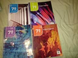 Livros Coleção Pitágoras - 7º Ano (usados e em ótimo estado)