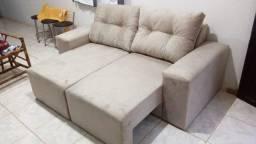 Melhor Preço!Sofá Retrátil 1,80m 2 Módulos Conforto na sua casa com Frete Grátis!