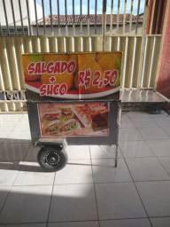 Vendo carrinho de cachorro quente, salgado e sanduíche. Para vender hoje R$ 500,00