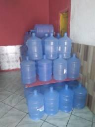 Garrafões água mineral 20 l é 10 litros validade ano 2023