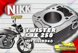 Título do anúncio: Kit Cilindro CBX 250 Twister Nikki Gold (877181)